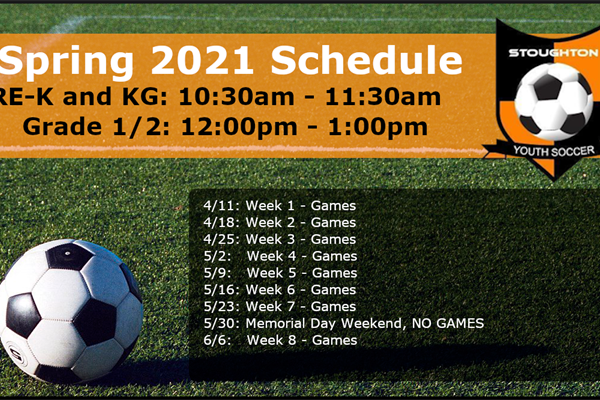 Spring 2021 In-House Schedule